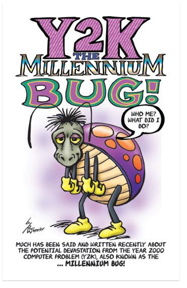 graphic transparent download Millennium clipart y2k. Y k the bug.