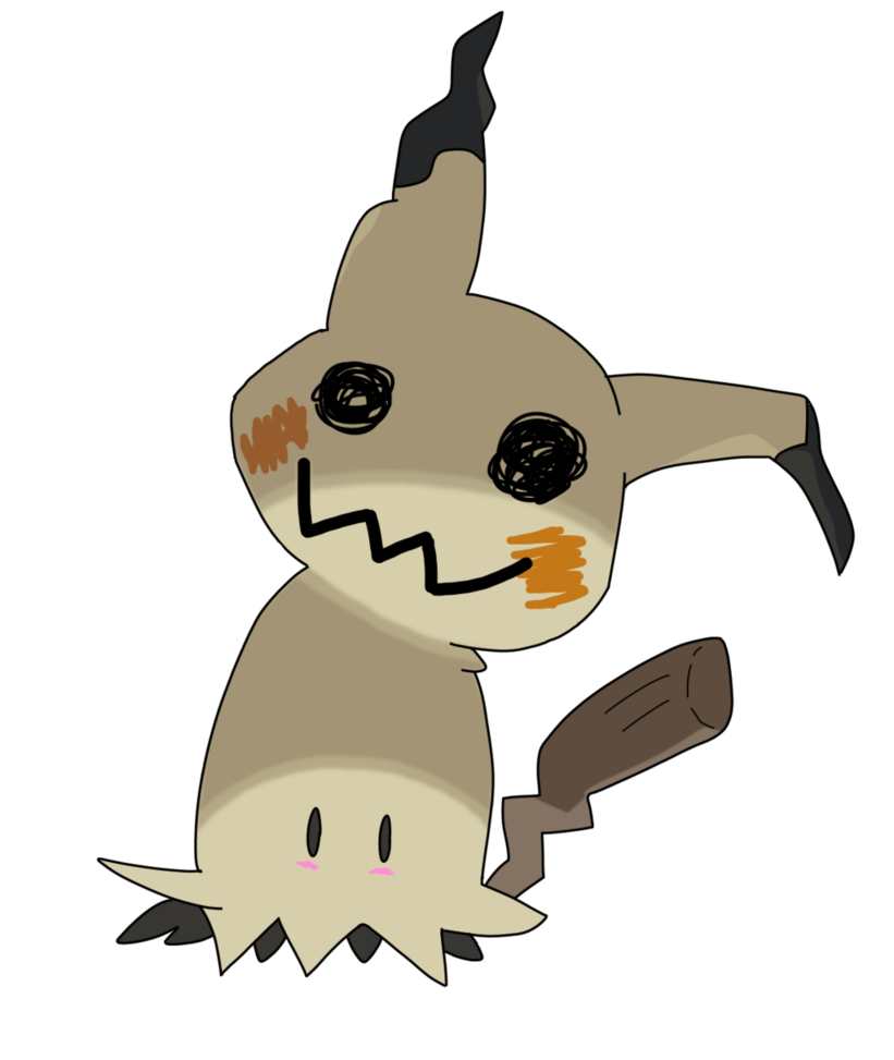 vector library Mimikyu by Horsecup on DeviantArt