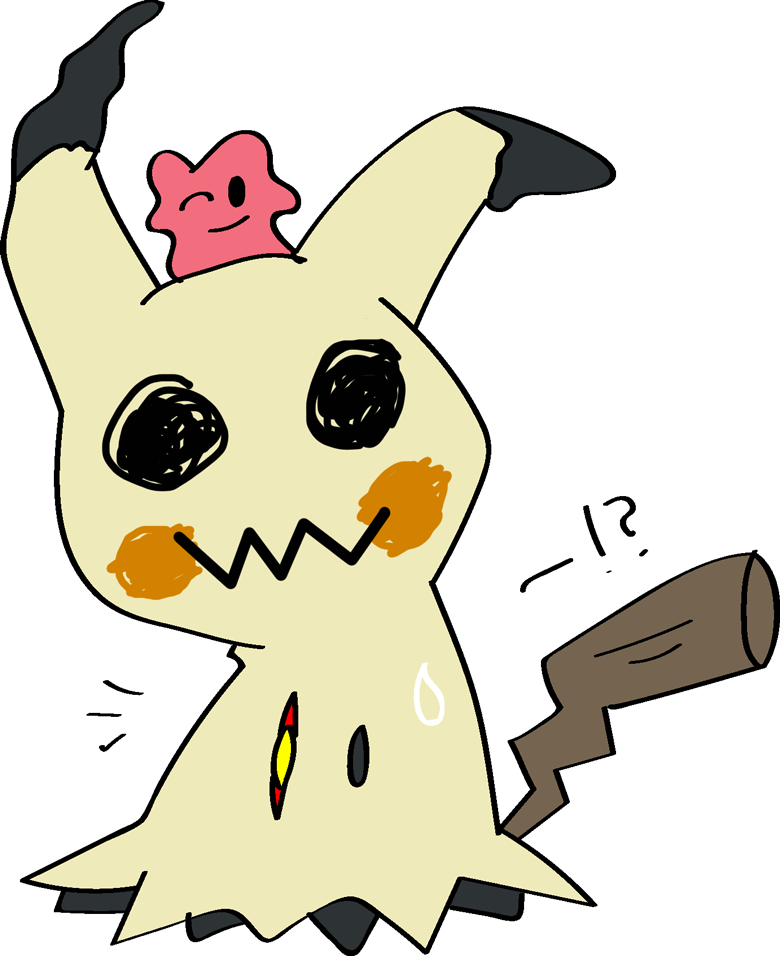 clipart library download Leroy Into Mimikyu with Sem