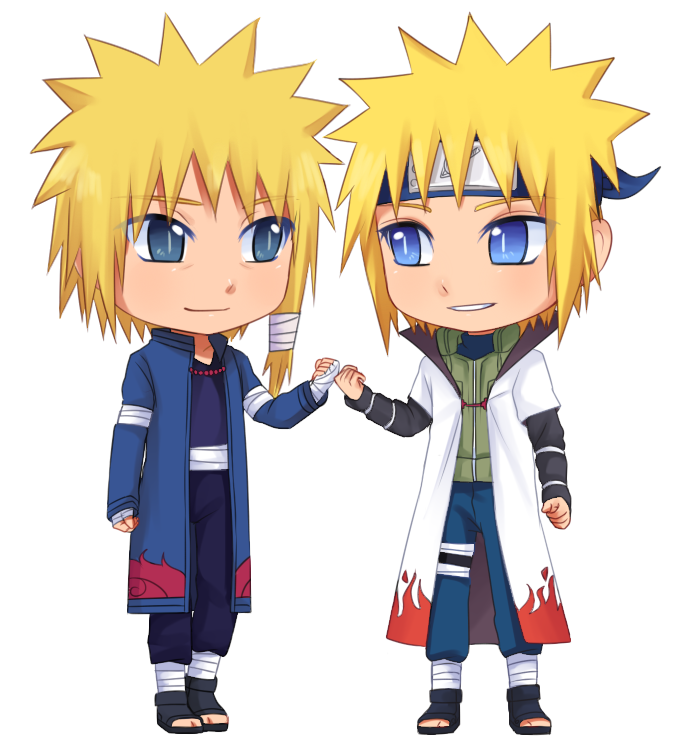 clip art royalty free Minato and his father by Rarity
