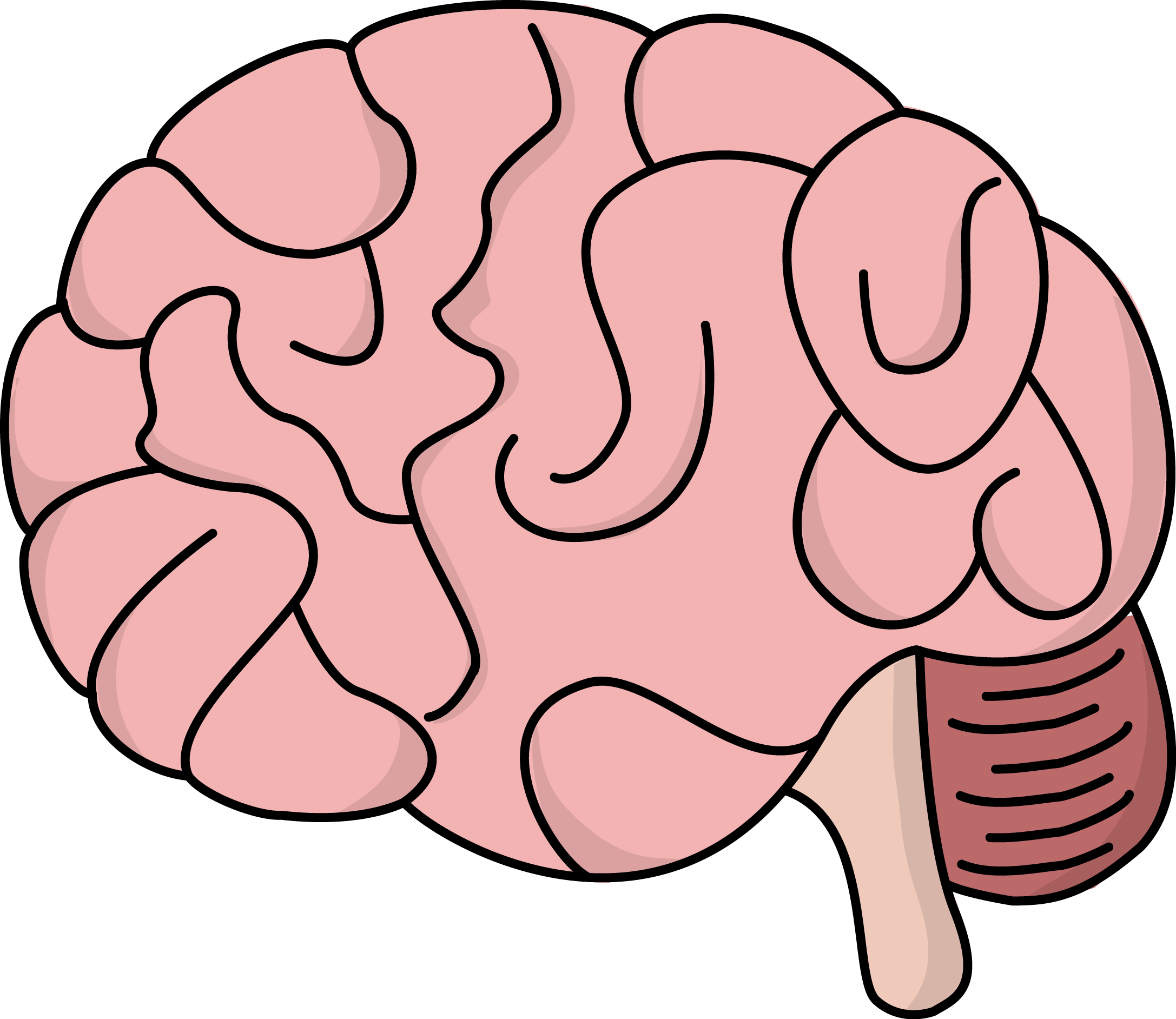 vector royalty free Mind Clipart side brain