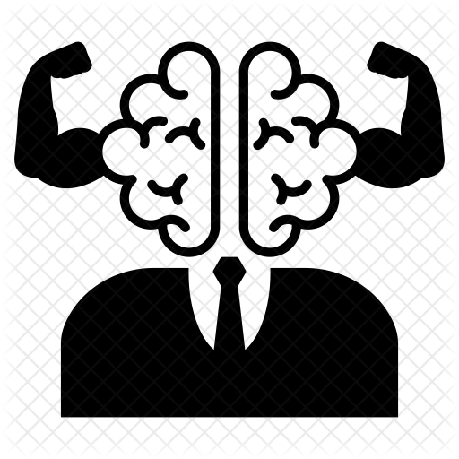 clip transparent stock Mind clipart brainpower. Brain power icon seo.