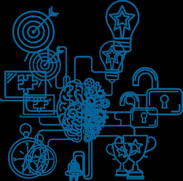 image stock Brain power a different. Mind clipart brainpower.
