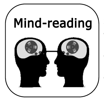 clipart freeuse library Thinking traps teresa prendes. Mind clipart mind reading.