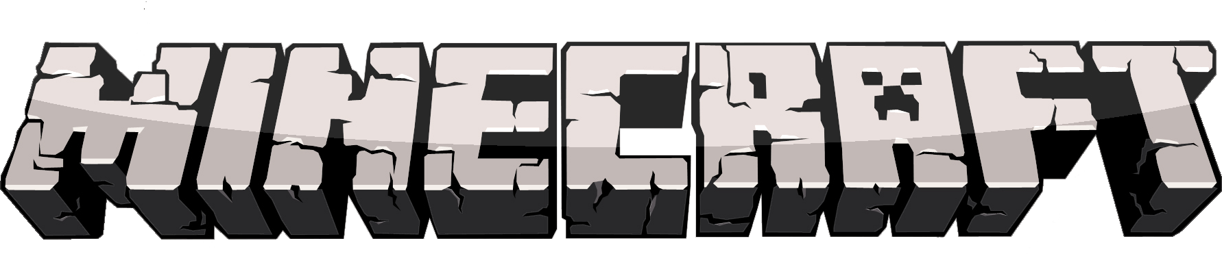 graphic library stock Minecraft black and white clipart. Tutorial how to make
