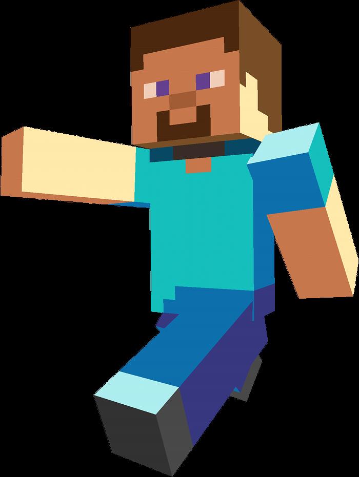 clipart Minecraft clipart minecraft villager. Steve pinterest layouts template.