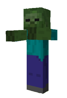 png transparent download Zombie . Minecraft clipart zombies.