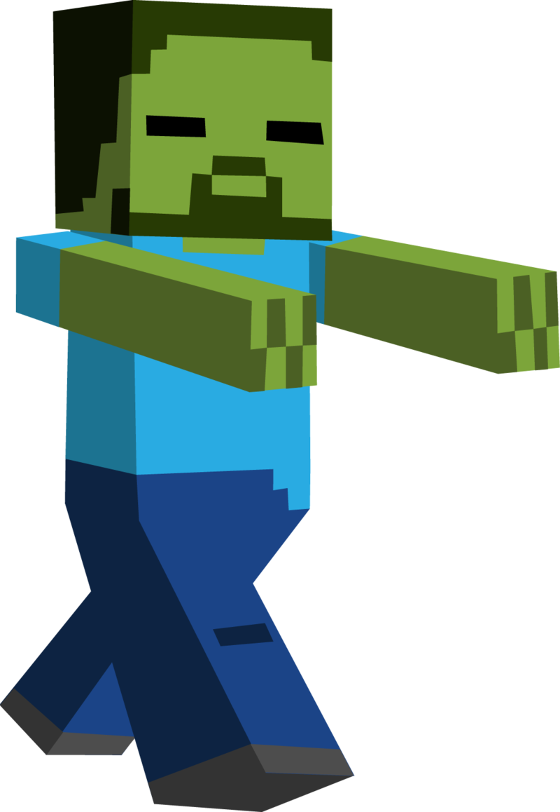 image Minecraft clipart zombies. Zombie by toajahli d.