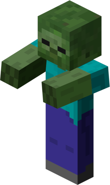 jpg freeuse download Zombie free on dumielauxepices. Minecraft clipart zombies.