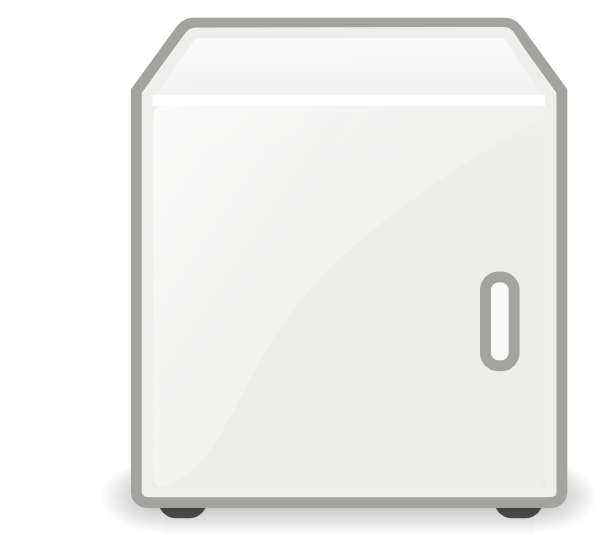 svg transparent download Fridge clip art at. Refrigerator clipart free