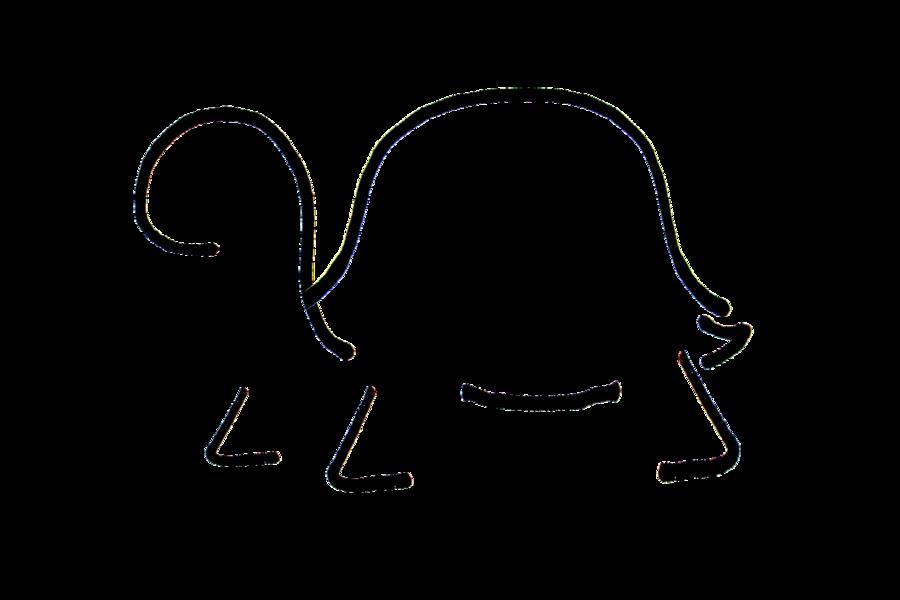 svg free Minimal Turtle by RonTheTurtleman