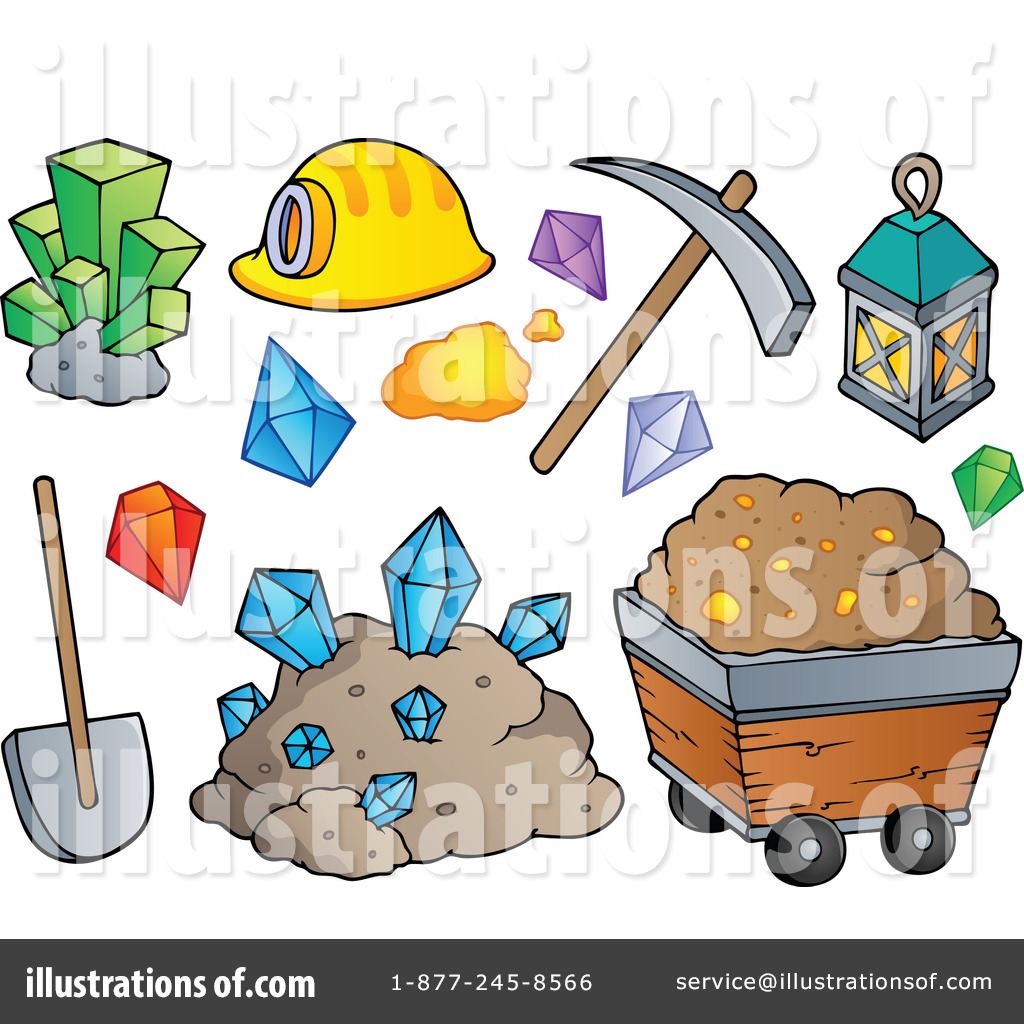 clip art library stock Mining clipart. Illustration by visekart