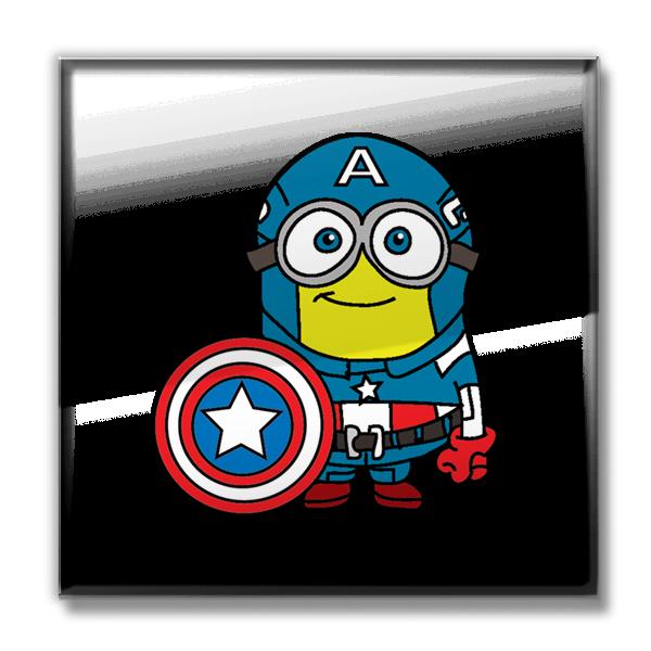 vector library stock Minions assemble minerica imaginative. Minion clipart captain america.