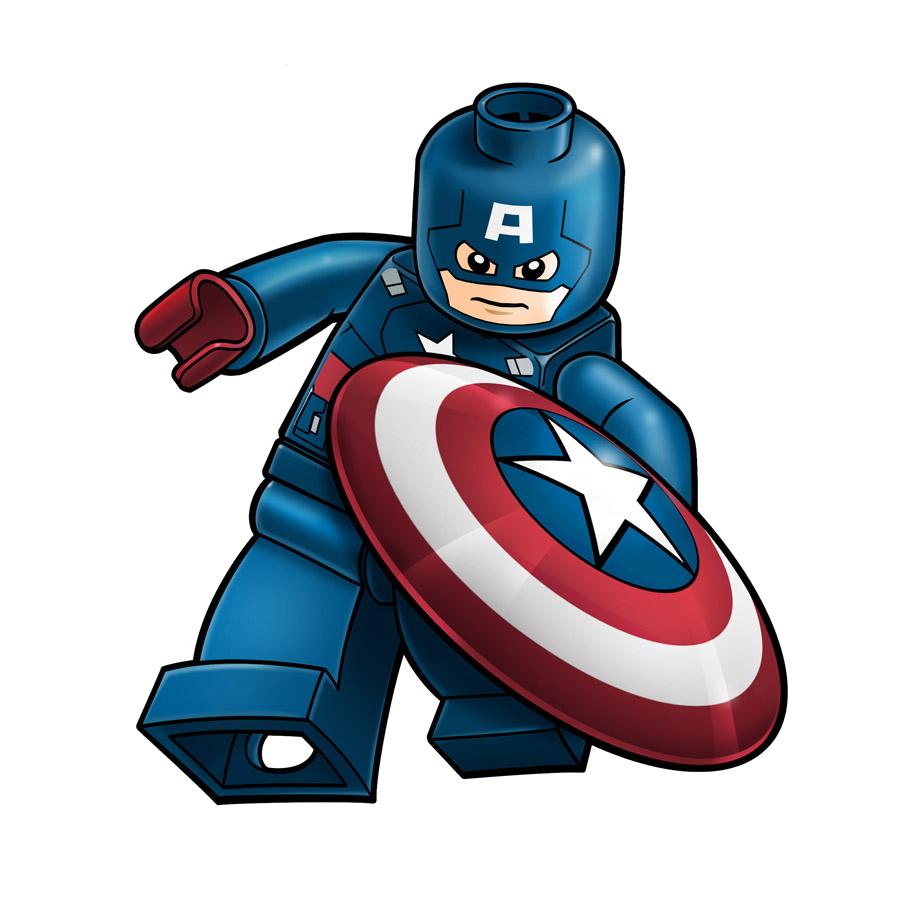 clip freeuse stock Cilpart prissy ideas lego. Minion clipart captain america.