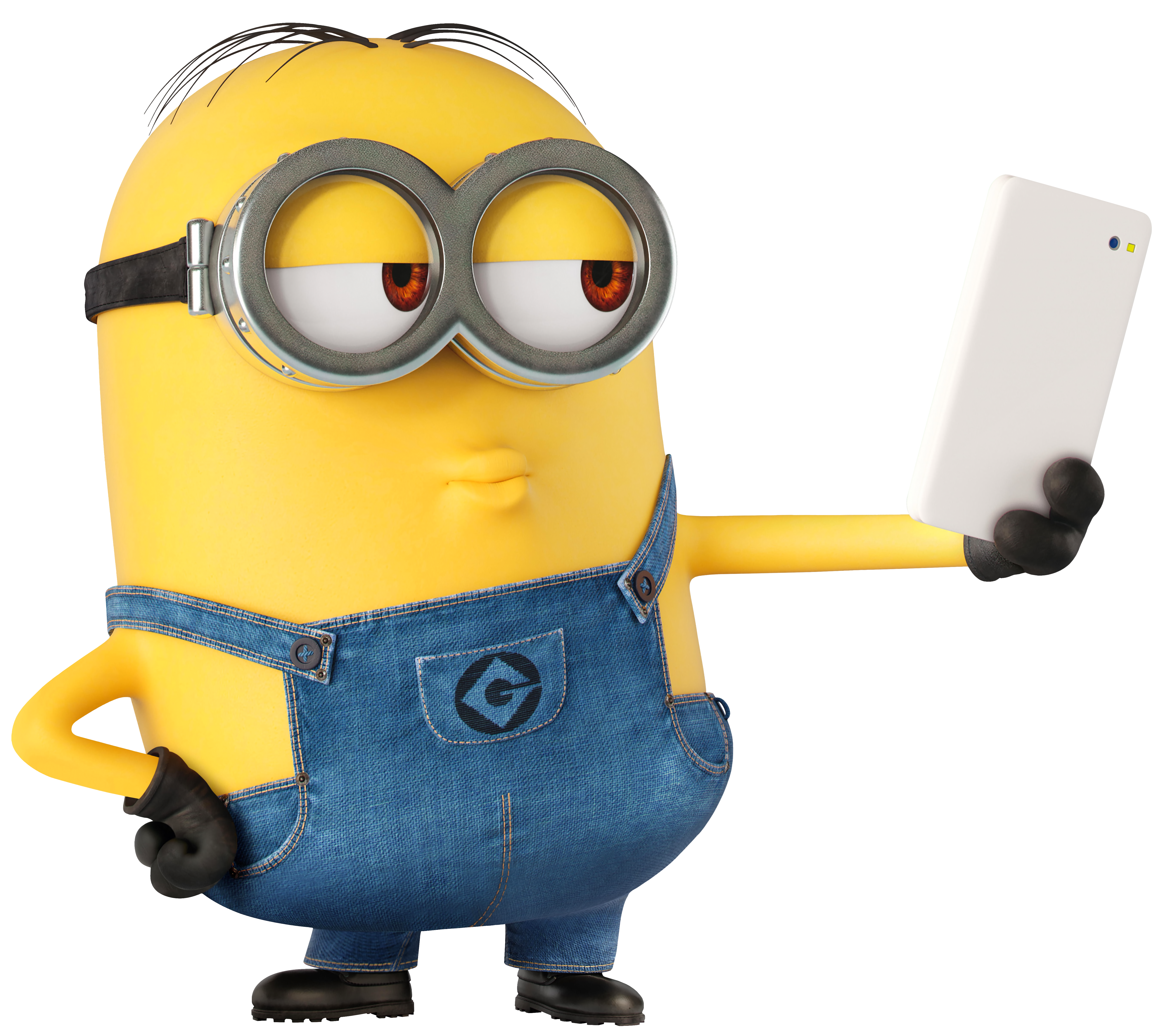 picture library library Selfie large transparent image. Minion clipart chris.