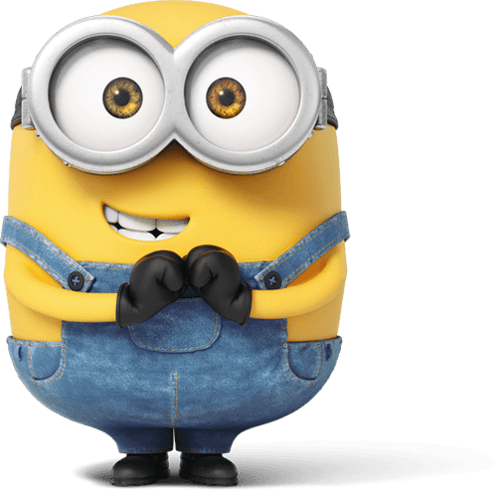 graphic library download Shy png stickpng at. Minion transparent.