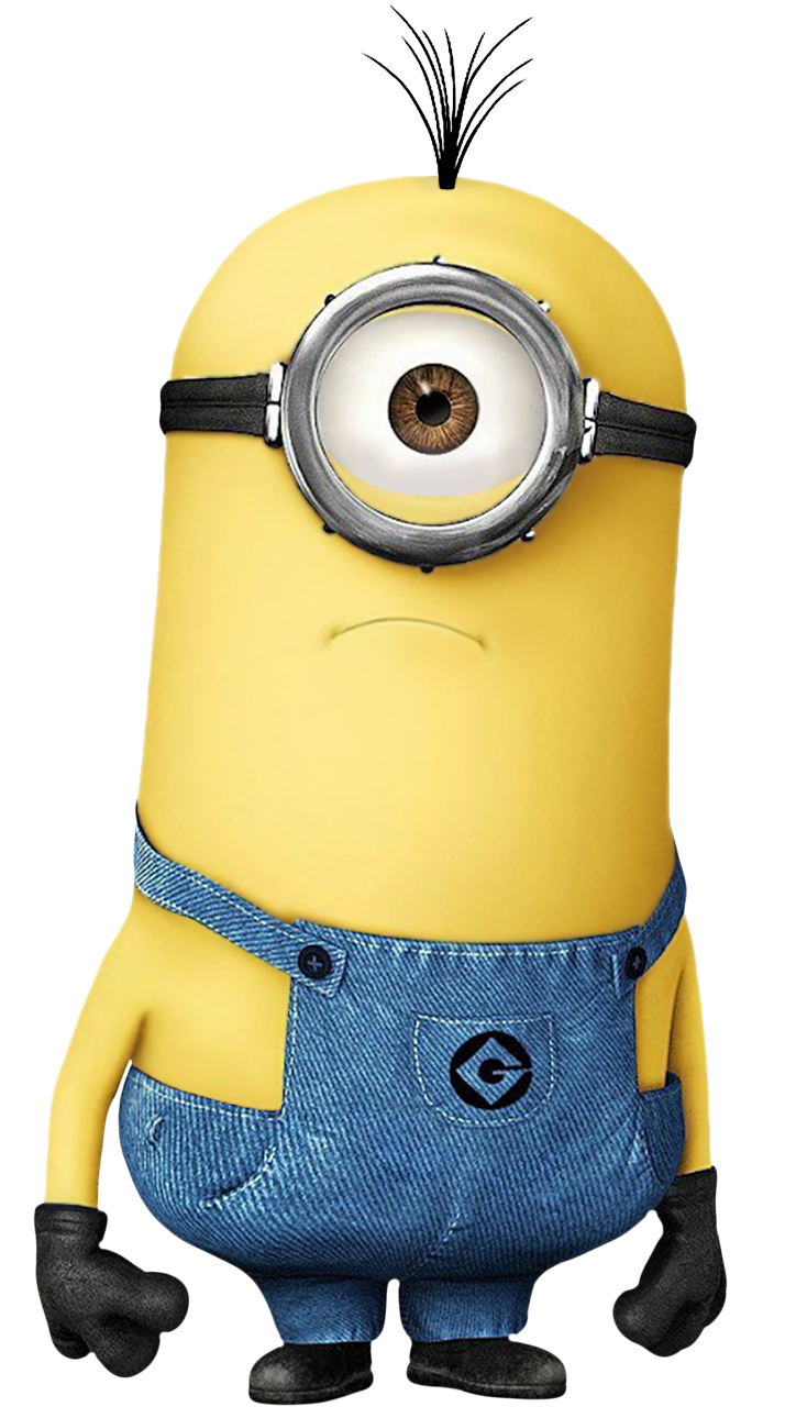 clipart library stock Minions clipart. Transparent minion png image.