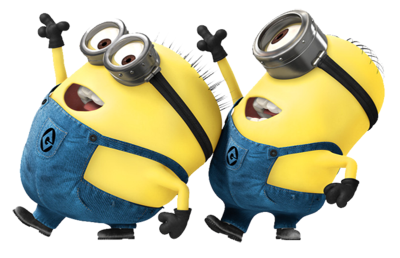 svg download Imagens png . Minions clipart dancing.