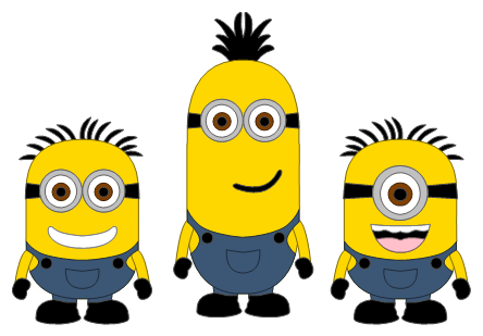 png library Minion . Minions clipart family