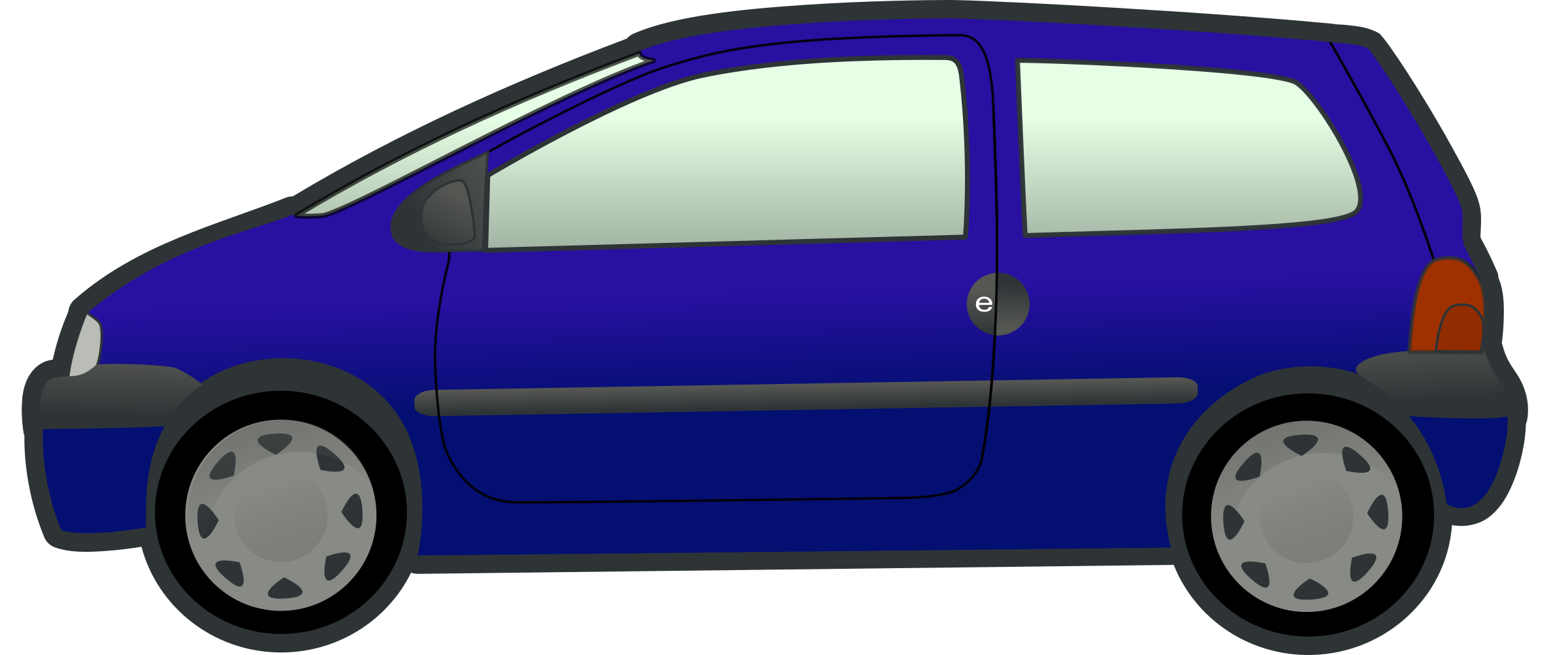image library stock  collection of blue. Minivan clipart