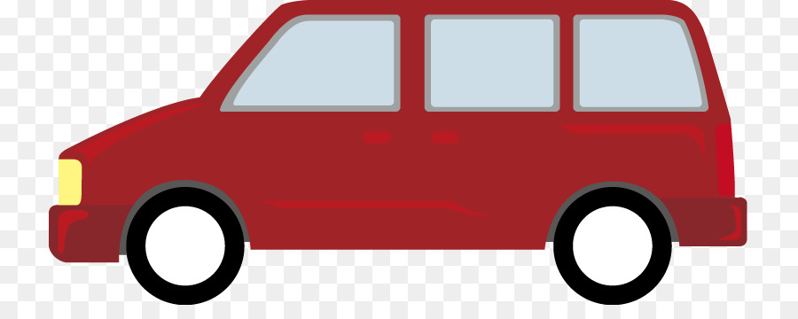 clipart free Car cartoon van transparent. Minivan clipart.