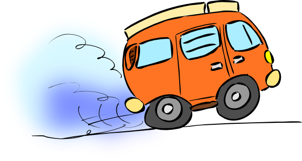 png stock Minivan clipart. Blue panda free images