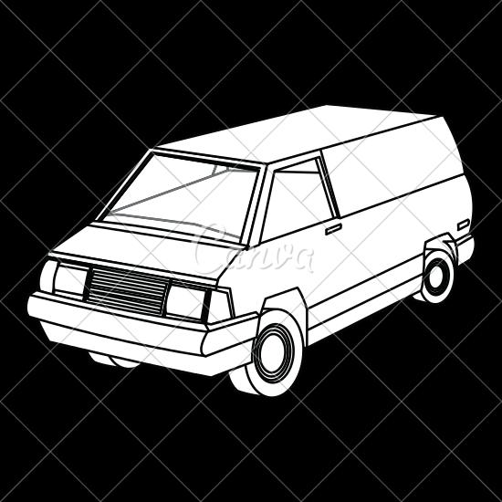 jpg freeuse stock Minivan Drawing at GetDrawings