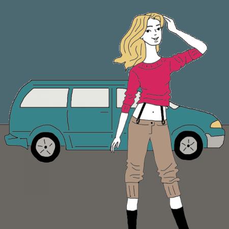 clipart royalty free stock Mini Van Dream Dictionary