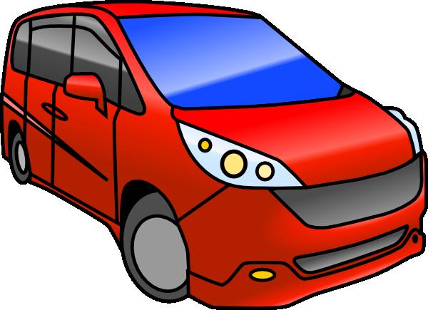 image library Cartoon Minivan Clipart