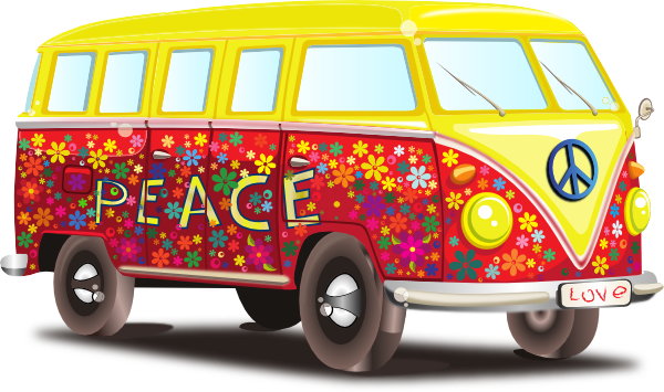 vector freeuse library Vw Bus Clip Art At Clker Com Vector Clip Art Online Royalty Free