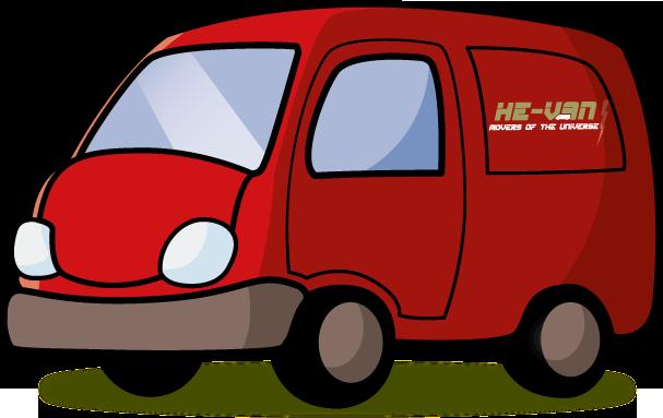 vector freeuse minivan clipart van man #81098397