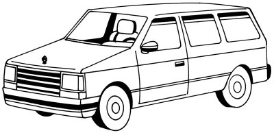 png free library Minivan drawing. How to draw a