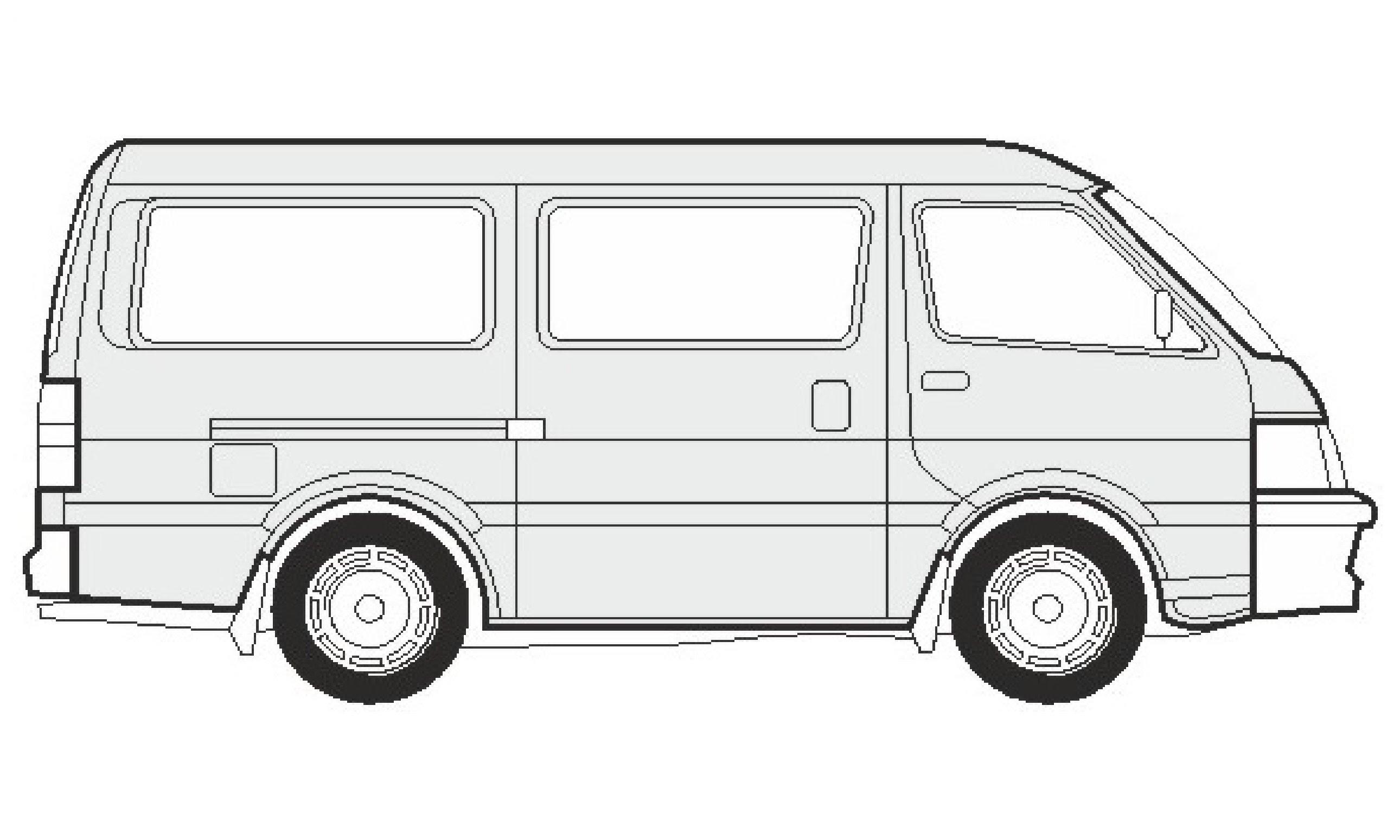 jpg free Minivan drawing. Van at paintingvalley com