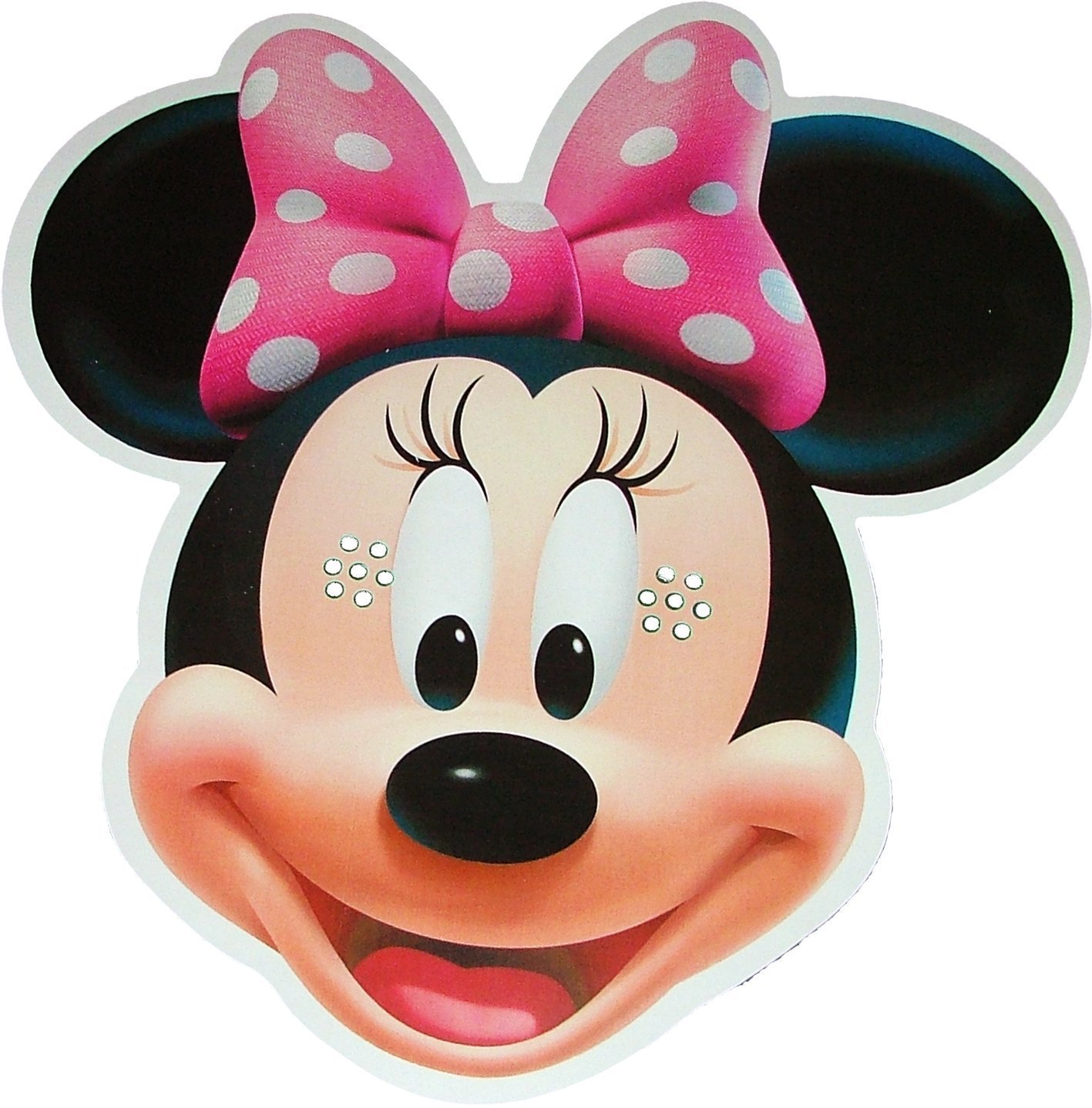 clipart free Free mouse download clip. Minnie clipart face outline pink.