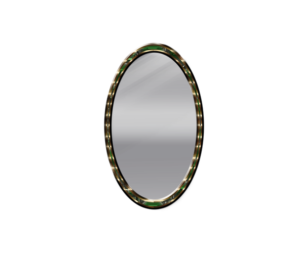 image freeuse Mirror clip. Art oval transprent png.