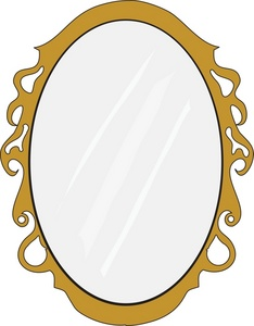 image black and white stock Free cliparts download clip. Mirror clipart
