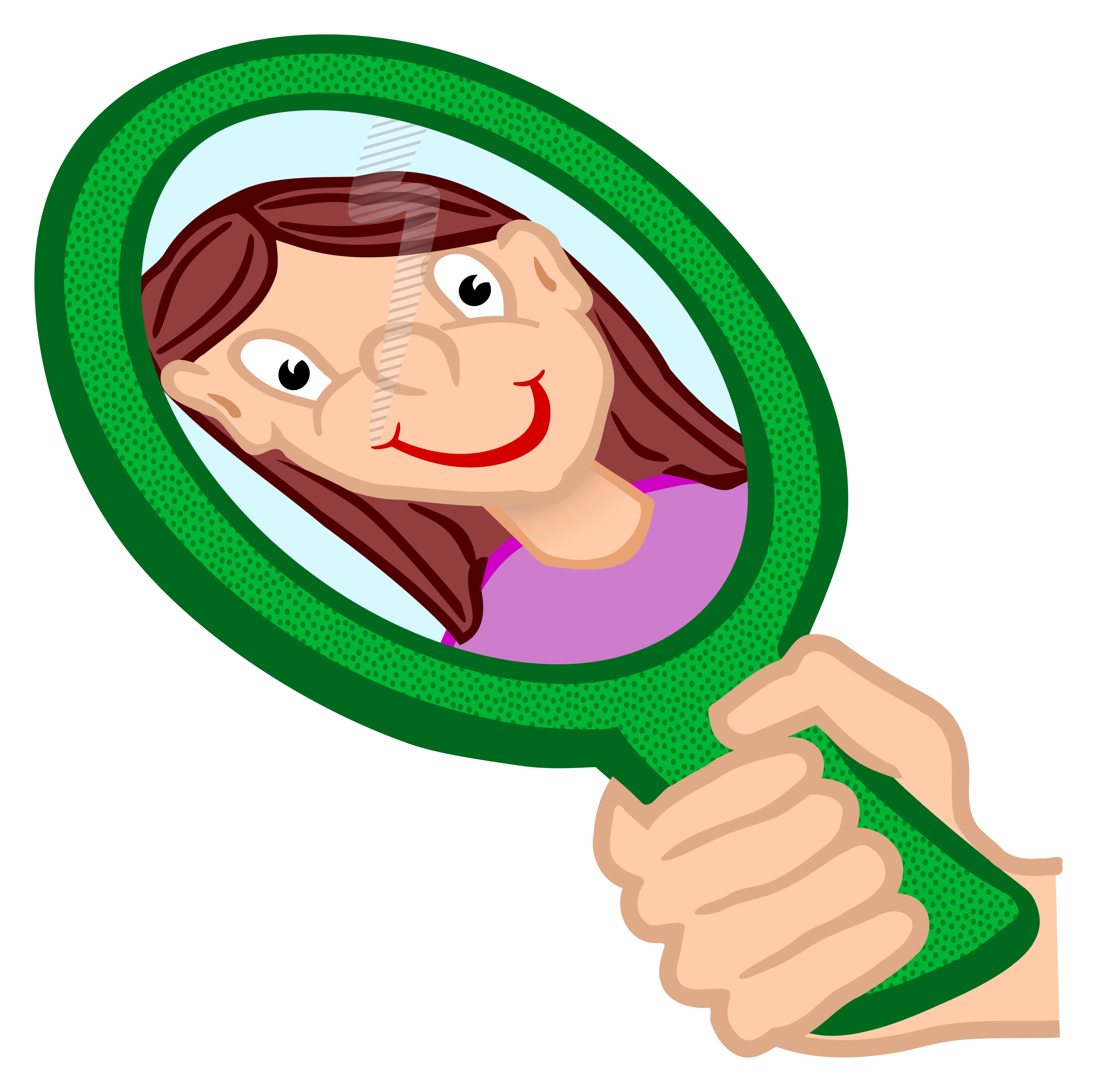 clipart freeuse stock Mirror clipart. Self discovery free on