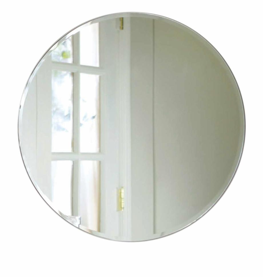 vector stock Round png . Mirror transparent circular