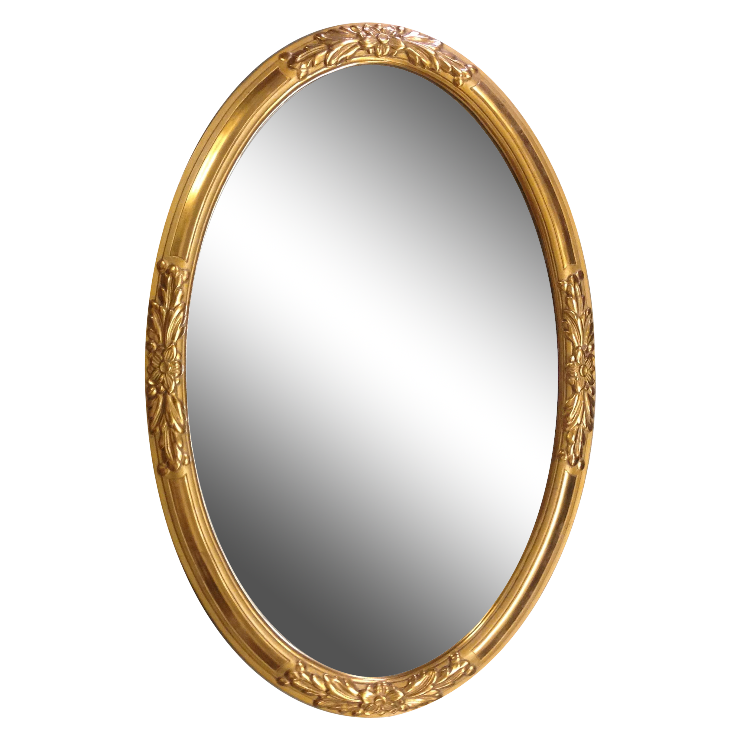 vector freeuse Oval mirror png