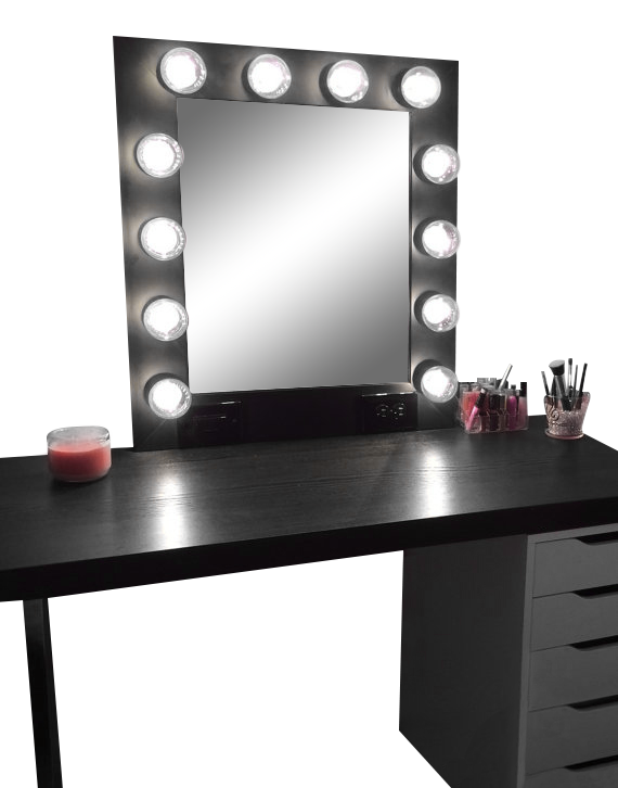 clip library stock This vanity mirror is every girls dream