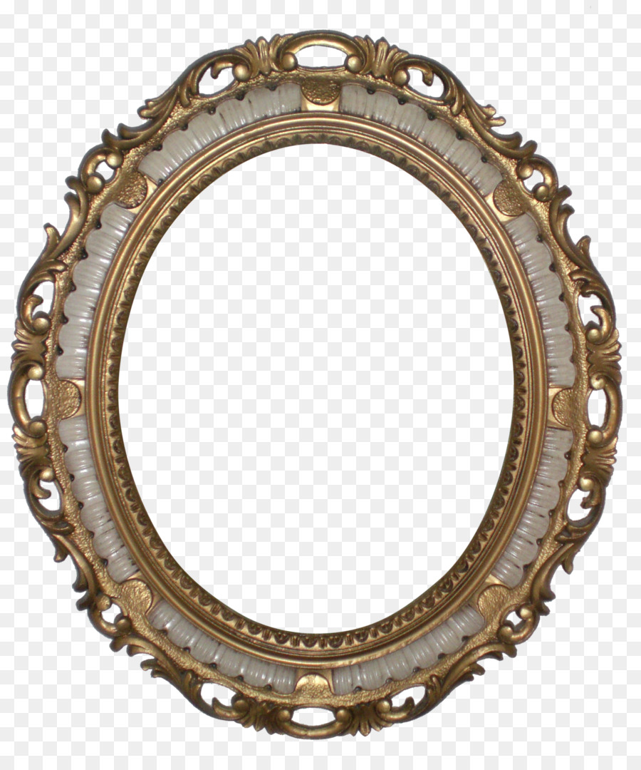 vector royalty free download Mirror transparent victorian. Era picture frames rococo.