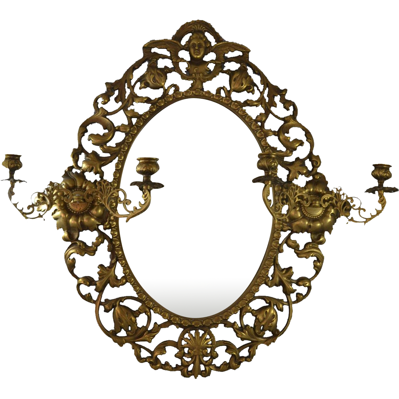 clip art freeuse download Home and interior. Mirror transparent victorian.