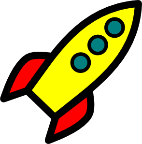 banner royalty free stock Rocket Clip Art at Clker