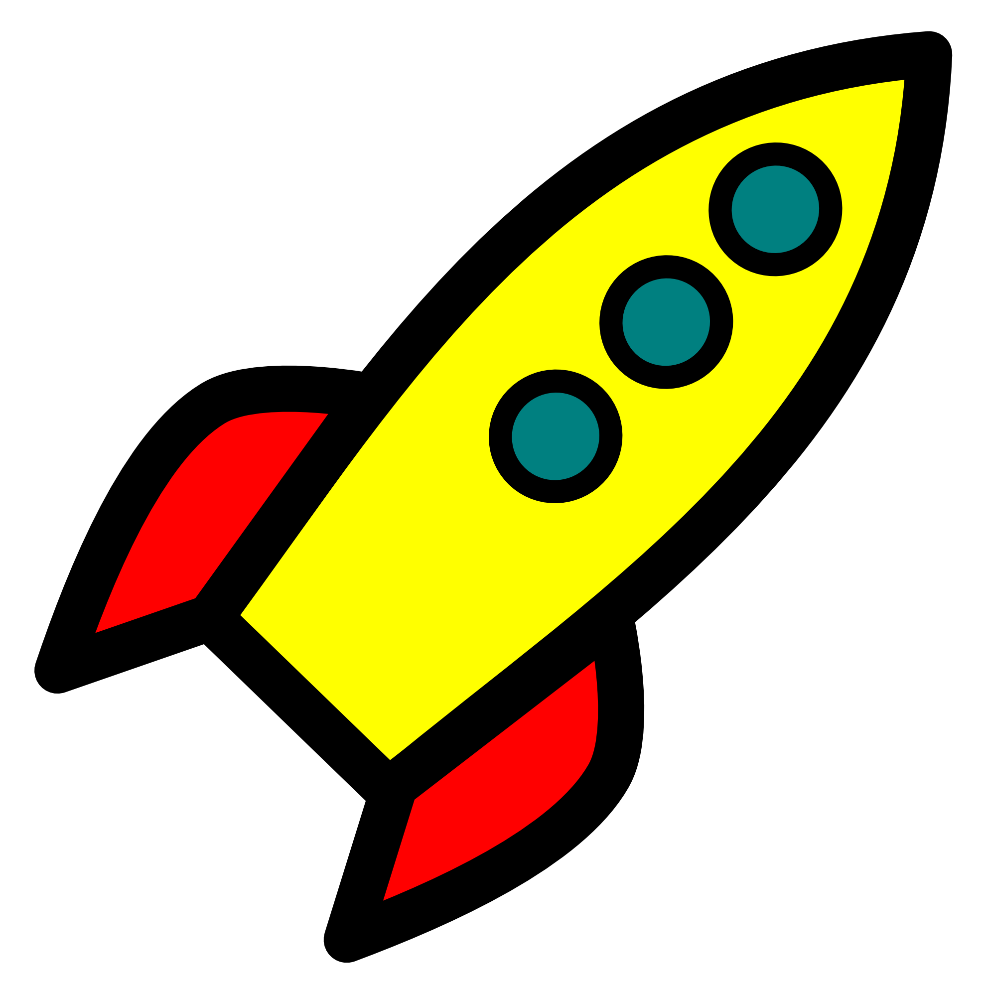 svg  rockets spaceship for. Missile drawing easy.