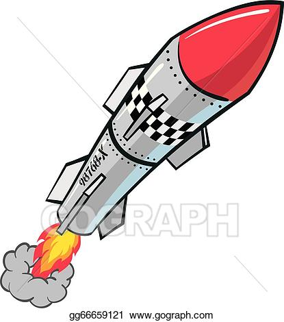 image black and white Missile vector. Stock rocket clipart illustration