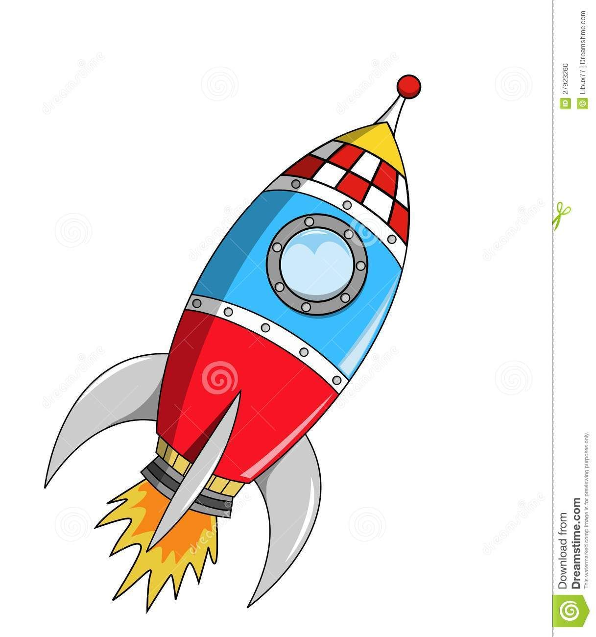 clip art black and white stock Space rocket on mission. Vector rockets cartoon