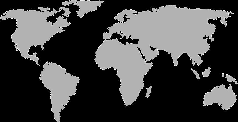 vector transparent stock Mapa Do Mundo