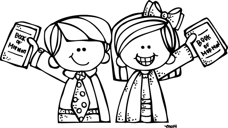 graphic black and white Missionary clipart. Lds coloring pages popular.