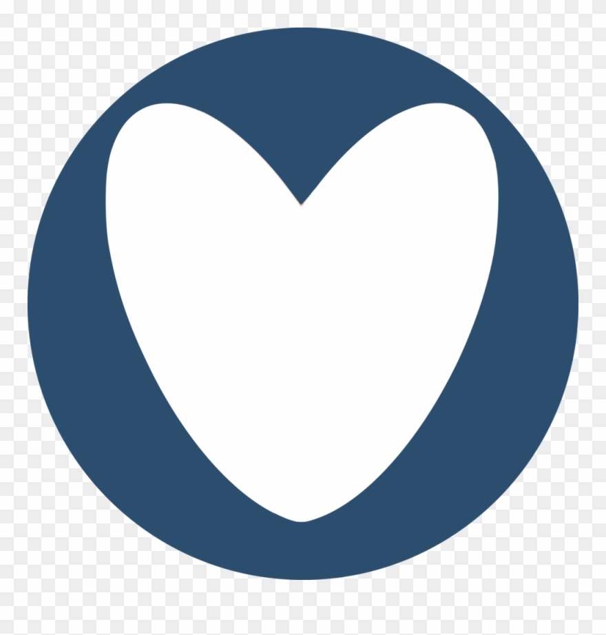 banner free stock Mission initiatives blue circle. Missions clipart heart design.