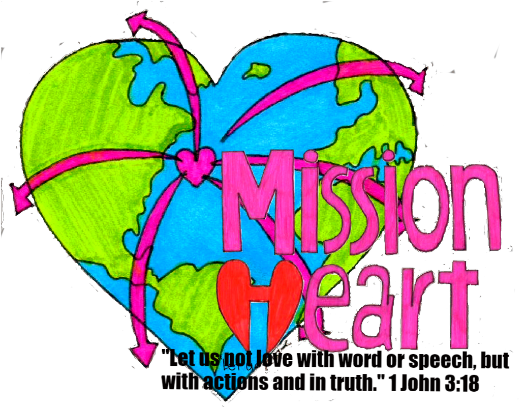 clip free download Mission home. Missions clipart world heart.